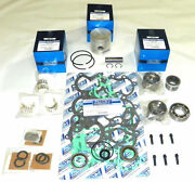 Wsm Mercury 50 / 60 Hp 98and039-05and039 Rebuild Kit 100-06-11 - .010 Over Size