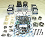 Wsm Mercury 225 250 Hp 3.0l Power Head Rebuild Kit .010 Over Size Only 100-45-11