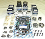 Wsm Mercury 225 250 Hp 3.0l Power Head Rebuild Kit .040 Over Size Only 100-45-14