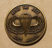 327th Airborne Infantry Combat Group Aicg Army Challenge Coin