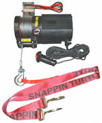 Snappin Turtle V4680 4500 Lb Power Trailer Winch