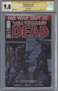 Walking Dead 80 Photo Cover_cgc 9.8 Ss_signed Andrew Lincoln Rick Rare