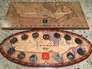 Royal Canadian Mint - 1999 Millennium Canada Collectible Coins