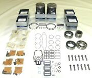 Mercury 200-250 Hp Carb/efi Power Head Rebuild Kit - .040 Size 100-45-24
