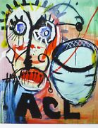Paul Kostabi Acl Numbered 26/75 Hand Signed Us Artist Urban Art 2012
