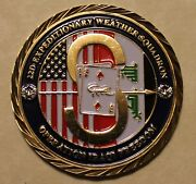 22nd Expeditionary Weather Squadron Spec Ops Commanders Air Force Challenge Coin