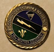 18th Weather Squadron Special Operations Commanders Air Force Challenge Coin