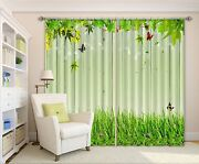3d Wood Grass 36blockout Photo Curtain Printing Curtains Drapes Fabric Window Ca