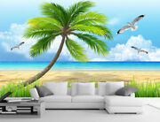 3d Coco Waves 6 Wall Paper Wall Print Decal Deco Indoor Wall Mural Ca