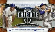2018 Topps Tribute Baseball Hobby 6 Box Case Blowout Cards