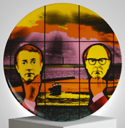 Gilbert And George And039light Headedand039 Limoges France Porcelain 8 Collectors Plate Nib