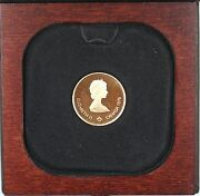 1976 Canada Olympic 100 1/2 Oz Gold Proof Commemorative Coin As Issued