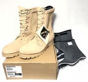 Intermediate Cold Wet Weather Combat Boots Gore-tex Us Military Tan Menand039s 15 New