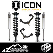 Icon 0-3 Suspension System Stage 2 Tubular Uca For 2015-2020 Ford F150 2wd