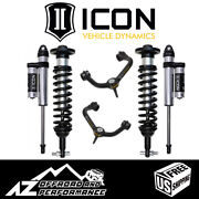 Icon 0-2.63 Suspension System Stage 3 Tubular Uca For 2015-2020 Ford F150 4wd