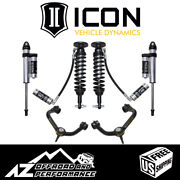 Icon 2-2.63 Suspension System Stage 4 Tubular Uca For 2015-2020 Ford F150 4wd