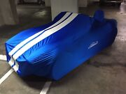 Premium Satin Stretch Indoor Tailored Car Cover For Shelby Cobra - Made To Order