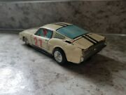 Rare Vintage Taiyo Japan Ford Mustang Gt Racer 27 Lithograph Japanese Tin Toy