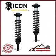 Icon Front Internal Reservoir Coil Over Shock Kit For 2014 Ford F150 2wd