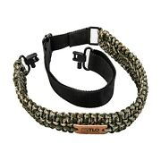 Tlo Outdoors Adjustable 2-point Paracord Gun Sling For Rifle Shotgun Crossbow