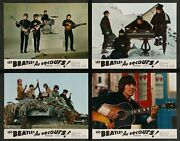 Help The Beatles Complete Set Of 12 French Lobby Cards 9x11.5 Vintage Rare