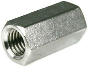 316 Stainless Steel Coupling Nuts Threaded Rod Extension - All Sizes - Qty 25