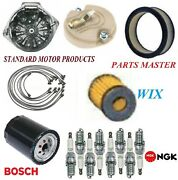 Tune Up Kit Filters Cap Spark Plugs Wire For Chevrolet P10 Van V8 5.7l4bbl 1973