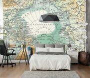 3d Nautical Route Map 452 Wall Paper Wall Print Decal Deco Indoor Wall Mural Ca