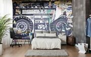 3d Worn Radio Poster 52 Wall Paper Wall Print Decal Wall Deco Indoor Wall Murals