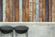 3d Mottled Old Wood Board 44 Wall Paper Wall Print Decal Wall Deco Indoor Murals