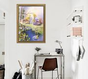 3d Paintings Houses 57 Fake Framed Poster Home Decor Print Painting Unique Art