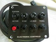 Detroit Diesel 4 Button Control Panel With Harness 31c-00613 Ddc 23525807