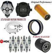 Tune Up Kit Filters Cap Spark Plugs Wire For Chevrolet Malibu V8 4.4l 1980
