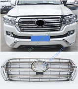 For Toyota Land Cruiser Lc200 Fj200 4000 16-19 Front Grille Grill Low Version