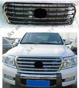 For Toyota Land Cruiser Lc200 Fj200 4000 12-15 Abs Gray Front Bumper Grille