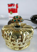 Imperial Royal Crown Vtg Remote Light Switch Button On Off Bone Power Mcm Lazy