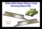 1939 1940 Chevrolet Panel Delivery And Chevy Pickup Truck Steel Running Board Set