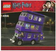 Lego Harry Potter The Knight Bus 4866 Brand New