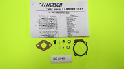 Tillotson Md123a Md129a Perkins Outboard Carb Kit