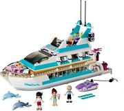 Lego 41015 Friends Dolphin Cruiser Yacht Dauphin + Notice Complet De 2013 Cng21