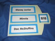 Toys R Us Exclusive Store Display/signdisney Junior/minnie Mouse/doc Mcstuffins