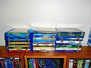 Disney Lot Of [35] Used Blu-ray Kids/family Movies] Cars 2 Bfg + More Fast Ship