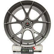Project 6gr Ten 20x10 Satin Graphite Concave Wheels For S197 Mustang Gt V6
