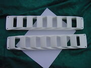 Four Winns 1980and039s Boat Bilge Vent Louver White Off White 17 Pair Genuine New