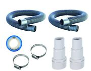 1 1/2 Water Swimming Pool Ground Filter Hose Replacement Kit Tools Accesories X