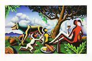 Mark Kostabi Tbt 2014 | Hand Signed Giclee | Others Available | Make An Offer