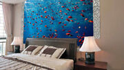 3d Sea Fishes Group 55 Wall Paper Wall Print Decal Wall Deco Indoor Wall Murals