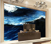 3d Wave Oil Painting 46 Wall Paper Wall Print Decal Wall Deco Indoor Mural Lemon