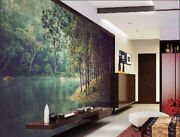 3d Riverside Forest 562 Wall Paper Wall Print Decal Wall Deco Indoor Mural Lemon