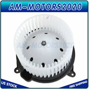 Heater Blower Motor With Fan Cage For Ford Lincoln Expedition F150 Pickup Truck